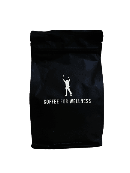 coffee bag of phil mickelson coffee for wellness