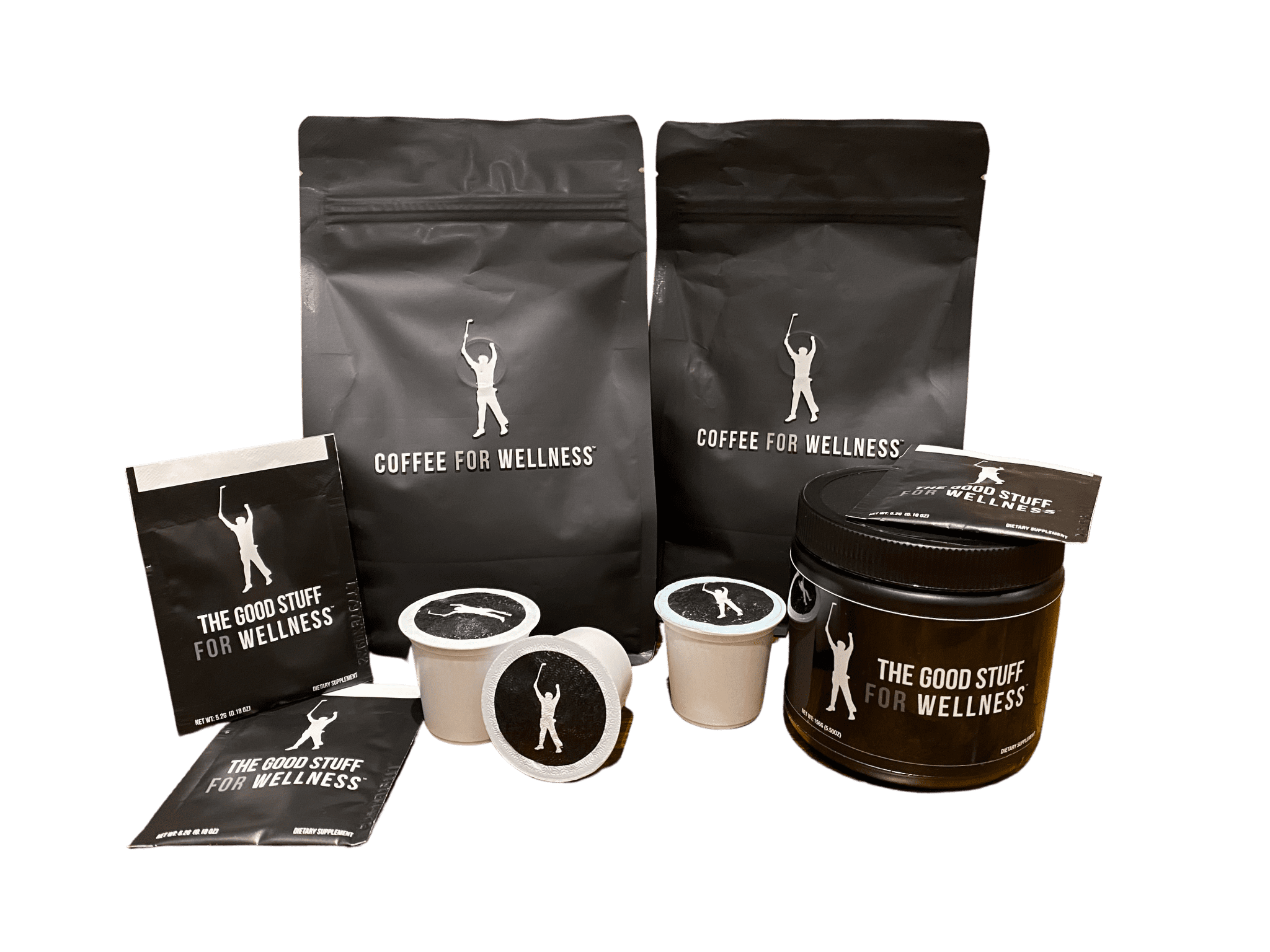 A variety of Coffee for Wellness products